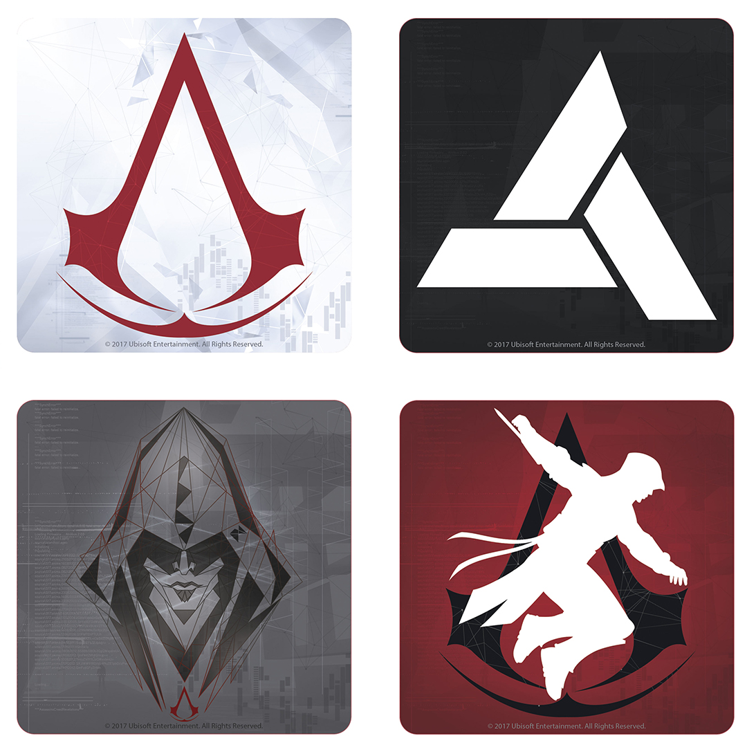 Assassin's Creed coasters by ABYstyle