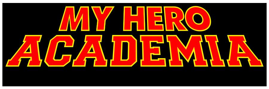 My Hero Academia logo